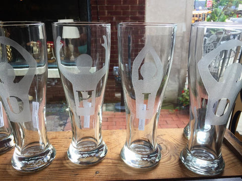OHIO pilsner glasses from Pure Roots