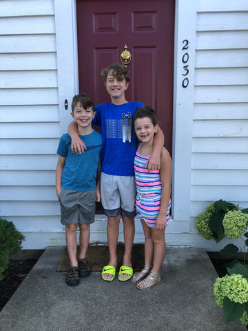fall traditions for families, first day of school