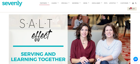 Sevenly SALT effect cause partnership