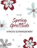 Spring Gratitude Photo Scavenger Hunt, benefits of gratitude, things to be grateful for, practice gratitude, practice of gratitude, practicing gratitude