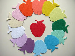 25 Seed Paper Apples - SALT effect - Teacher Mom Mother's Day Gift Guide 2020