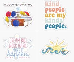 RedBubble stickers On SALT effect, best gifts for teen girls, gift ideas for tween girl, gifts for tween girl, christmas gift ideas for teenage girls, teenage girl birthday gift ideas