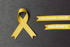 Mayo Clinic - Childhood Cancer Awareness Month gold ribbon