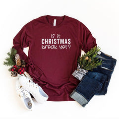 Is it Christmas break yet? - Simply Sage Designs - Holiday Tees for Teachers - Christmas T-shirts for teachers