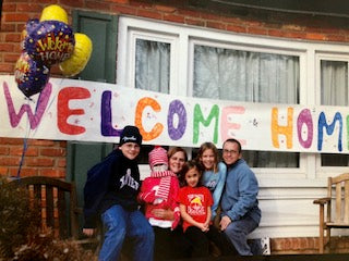 Welcome home from the hospital
