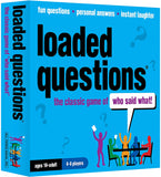 Loaded questions, best board games for tweens and teens, best gifts for tween boys, best gifts for teen boys