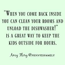 Funny quote about doing chores