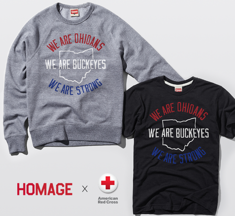 Governor Mike DeWine quote tee - Homage shirt - We are Ohioans. We are Buckeyes. We are strong. - shirt for Ohio 2pm press conference - SALT effect