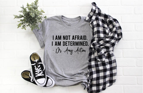 I am not afraid. I am determined tee - shirt for Ohio 2pm press conference - SALT effect