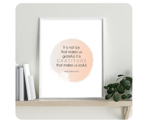 Gratitude Quotes Color Printables {INSTANT DOWNLOAD of 12 Quotes} - SALT effect