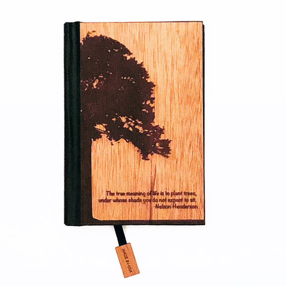 Custom Woodchuck USA Pocket Journal - SALT effect