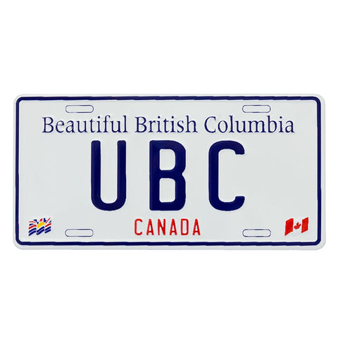 UBC Licence Plate Magnet