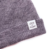 Navy/White 'Love for Kelowna' Knit Beanie Toque