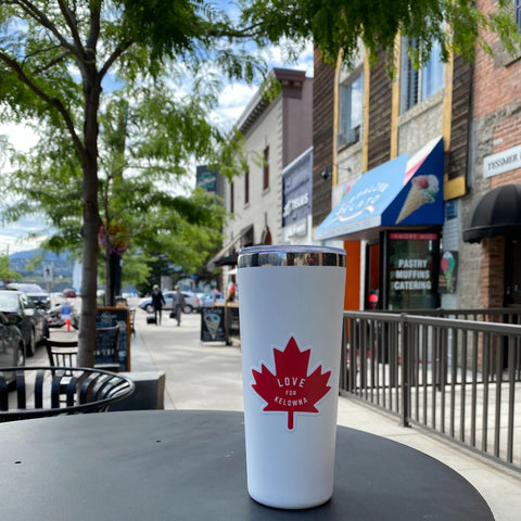 Limited Edition 'Love for Kelowna' Canada Pride Tumbler