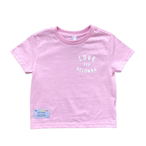 Pink 'Love for Kelowna' Toddler T-Shirt