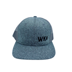 Grey/Grey 'WK' Trucker Hat