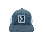 Grey/White Patch 'West Kelowna' Trucker Hat