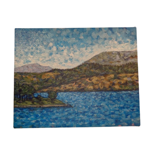 Kelowna Waterfront 2020 - Cynthia Gunsinger Original Painting