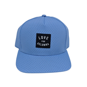Sky Blue Perforated 'Love for Kelowna' Dad Hat
