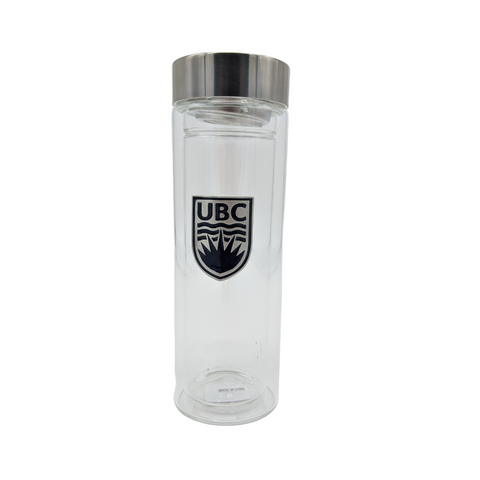 UBC Glass Tea Tumbler