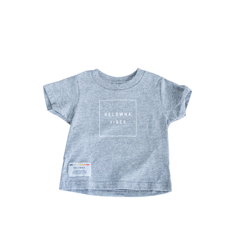 Athletic Grey 'Kelowna Vibes' Toddler T-Shirt