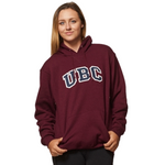 Maroon/Navy UBC Basic Arch Screen Hoodie