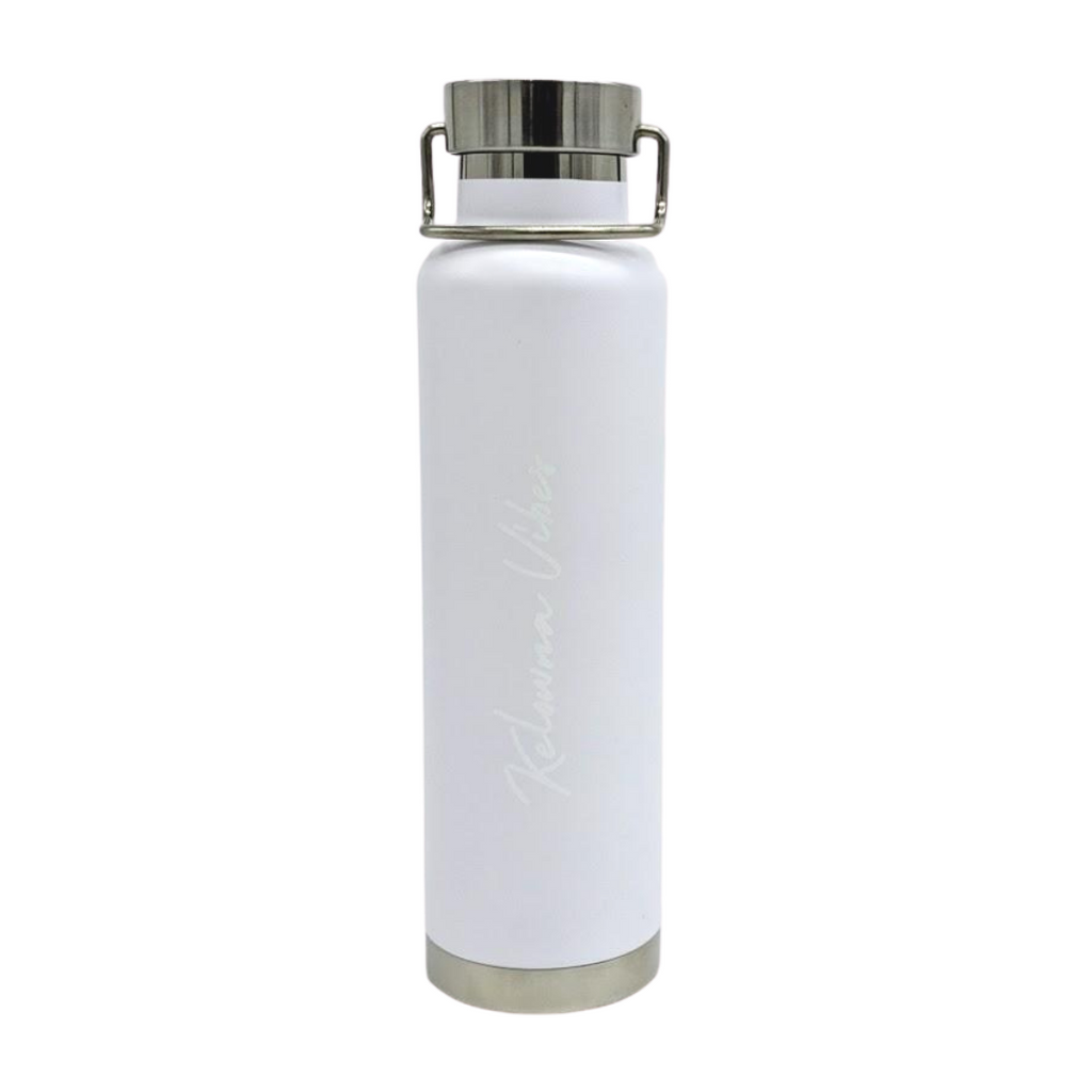 White/White 'Kelowna Vibes' 22 oz Hot/Cold Bottle