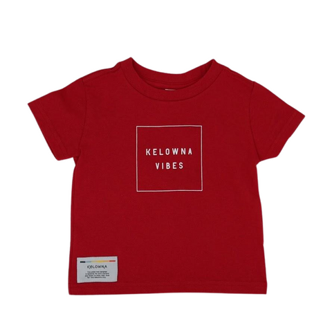 Red 'Kelowna Vibes' Toddler T-Shirt