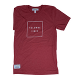 Heather Red 'Kelowna Vibes' Unisex T-Shirt