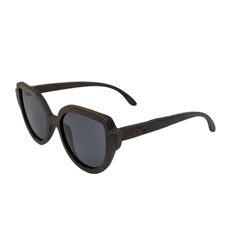 Dark Wood Cat Eye Sunnies