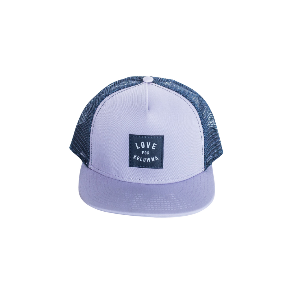 Purple/Navy 'Love for Kelowna' Trucker Hat