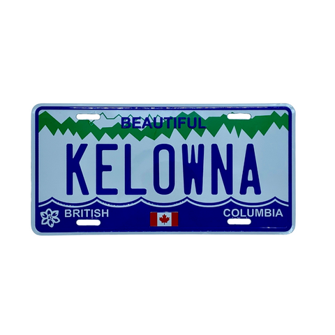 Kelowna Licence Plate (Full Size)