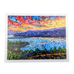 Knox Mountain Sunset - Cynthia Gunsinger Print