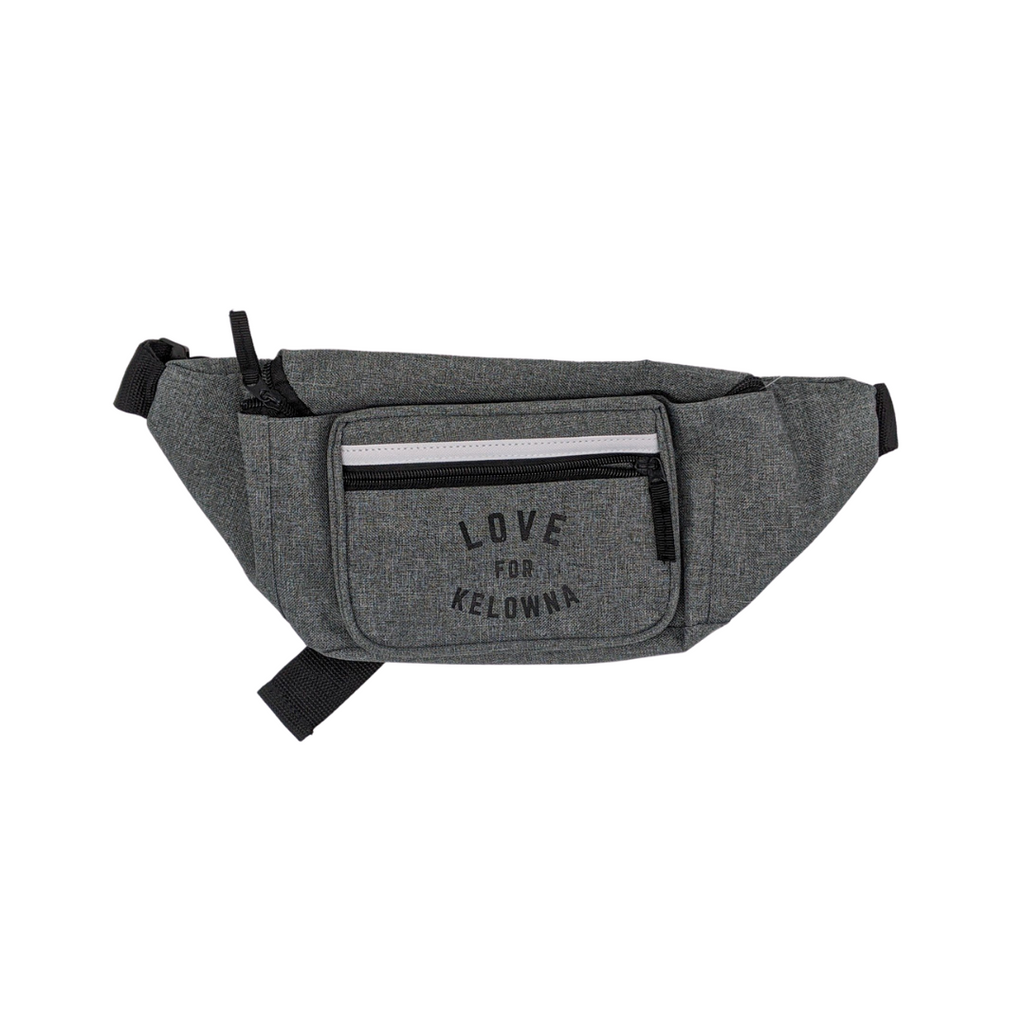 Charcoal 'Love for Kelowna' Fanny Pack