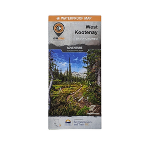West Kootenay Backroads Map