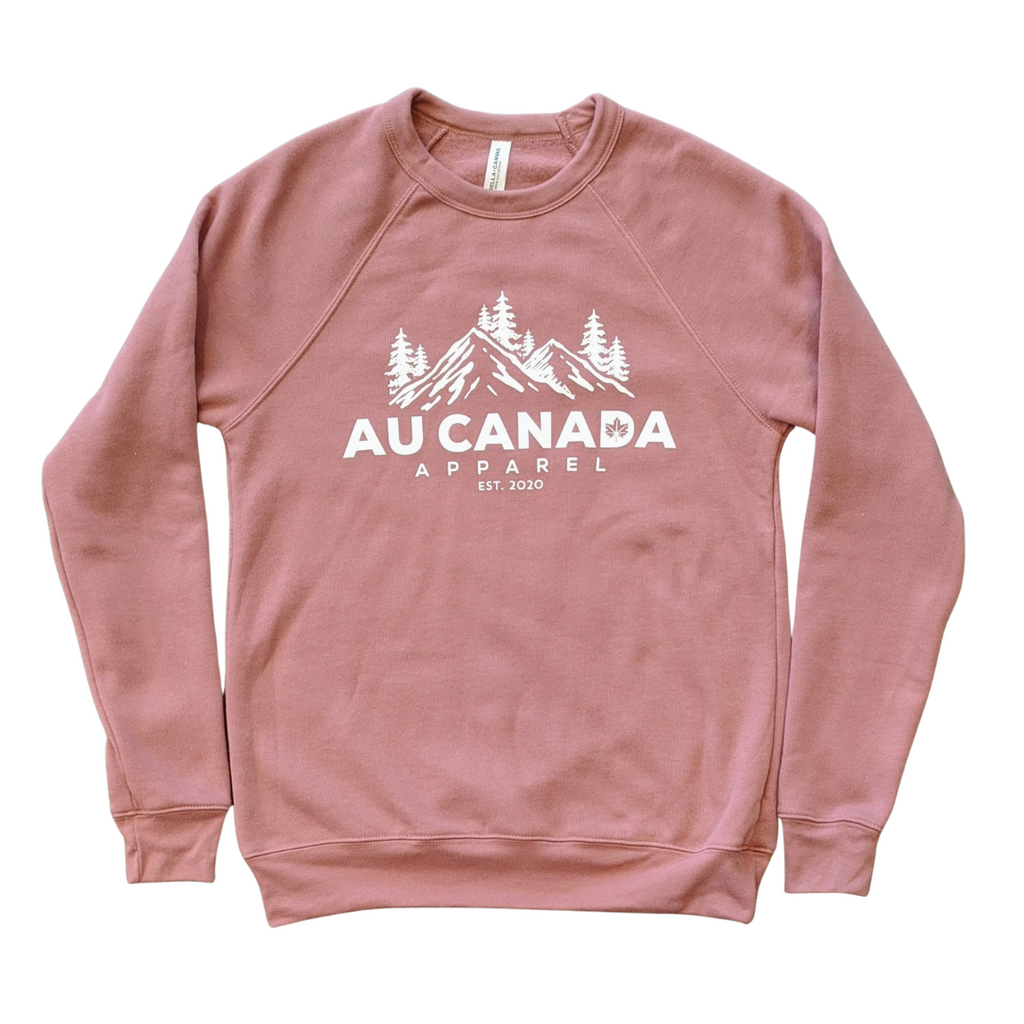 Dusty Rose Au Canada Apparel Crewneck