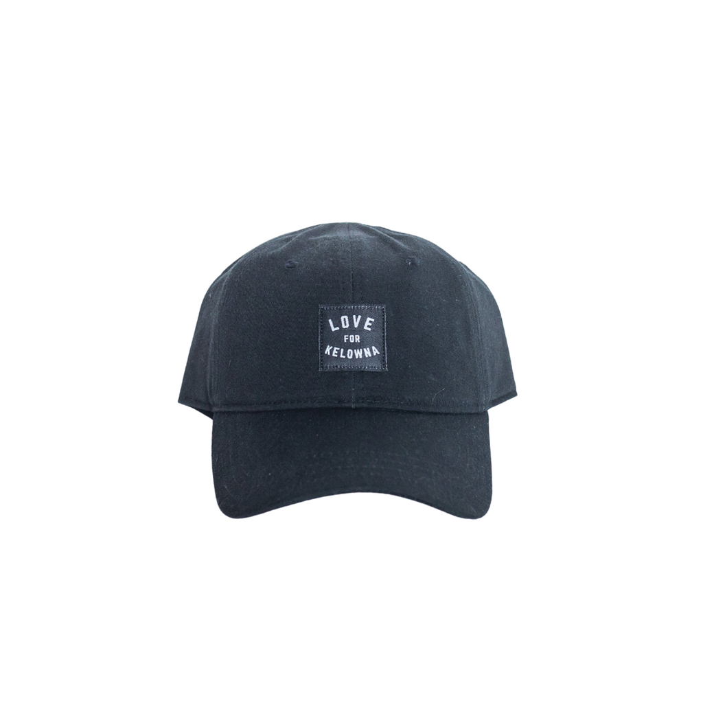 Black 'Love for Kelowna' Dad Hat