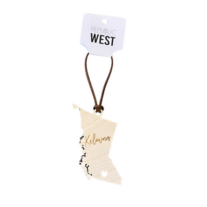 'Kelowna BC' Christmas Ornament