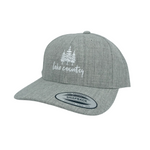Heather Grey 'Lake Country' Snapback Hat