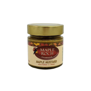 Maple Roch Mustard 300g Glass Jar