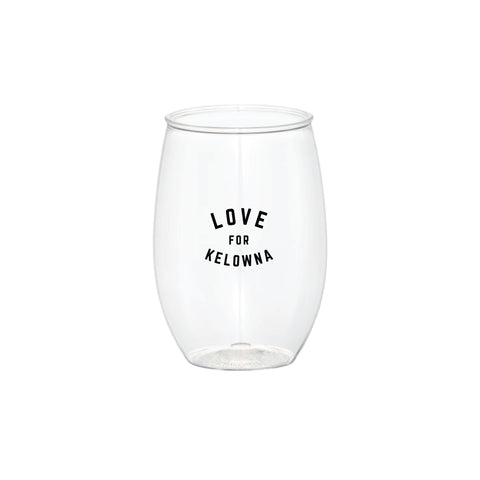 'Love for Kelowna' To-Go Wine Glass