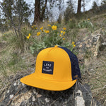 Gold/Navy 'Love for Kelowna' Trucker Hat