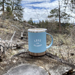 Blue/Copper 'Love for Kelowna' Insulated Camp Mug