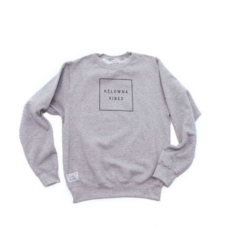 Athletic Grey 'Kelowna Vibes' Crewneck