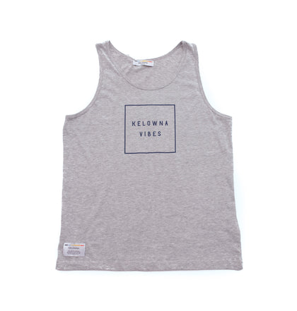 Athletic Grey 'Kelowna Vibes' Tank