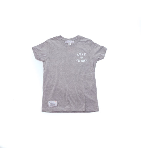 Athletic Grey 'Love for Kelowna' Kids' T-Shirt