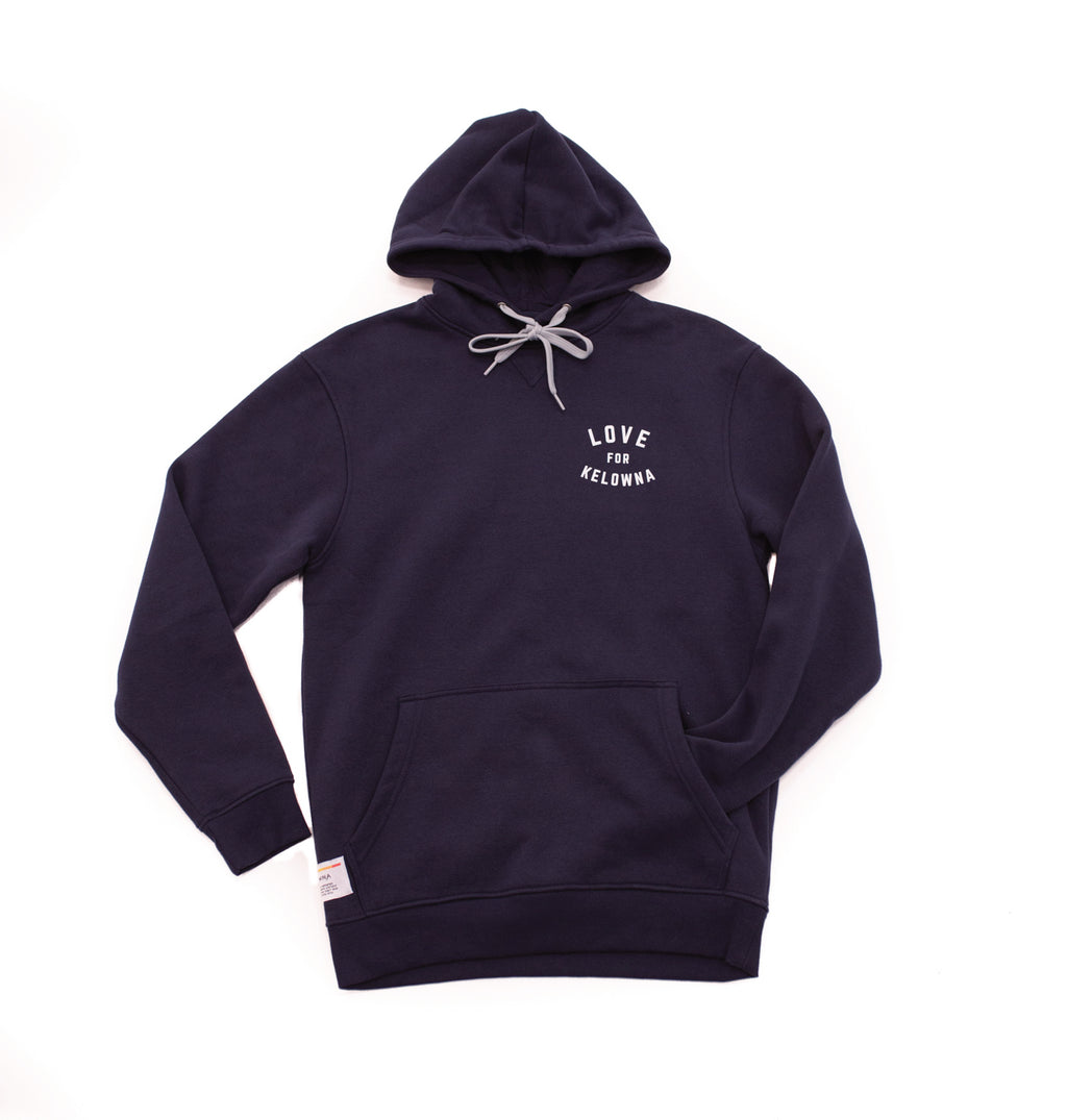Navy 'Love for Kelowna' Hoodie