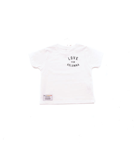 White 'Love for Kelowna' Toddler T-Shirt