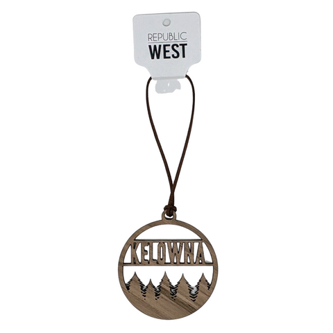'Kelowna Trees' Christmas Ornament