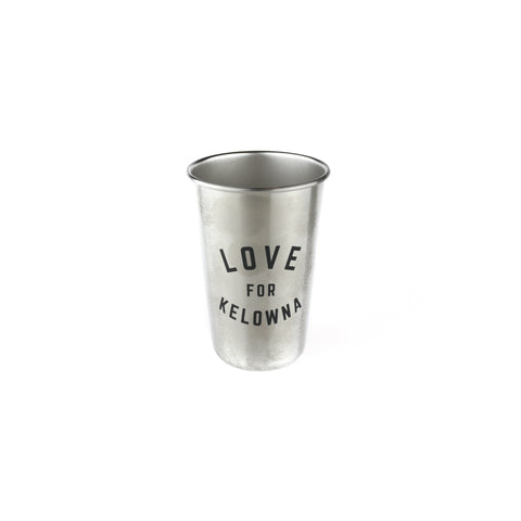 'Love for Kelowna' 16oz. Stainless Steel Cup